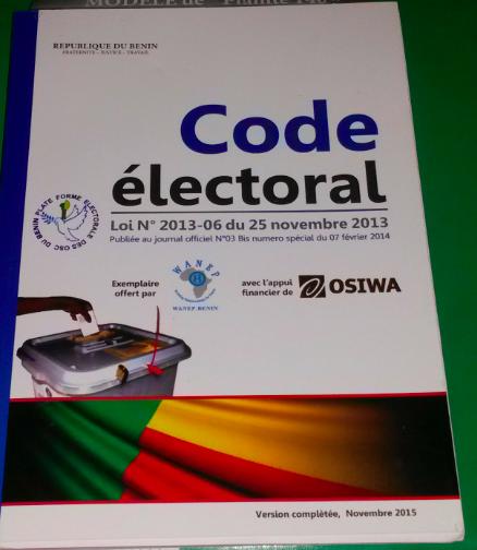 Le code électoral