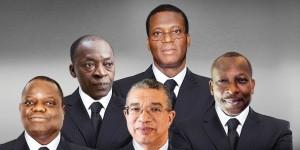 Les cinq favoris à l'2lection présidentielle de mars 2016 au Bénin